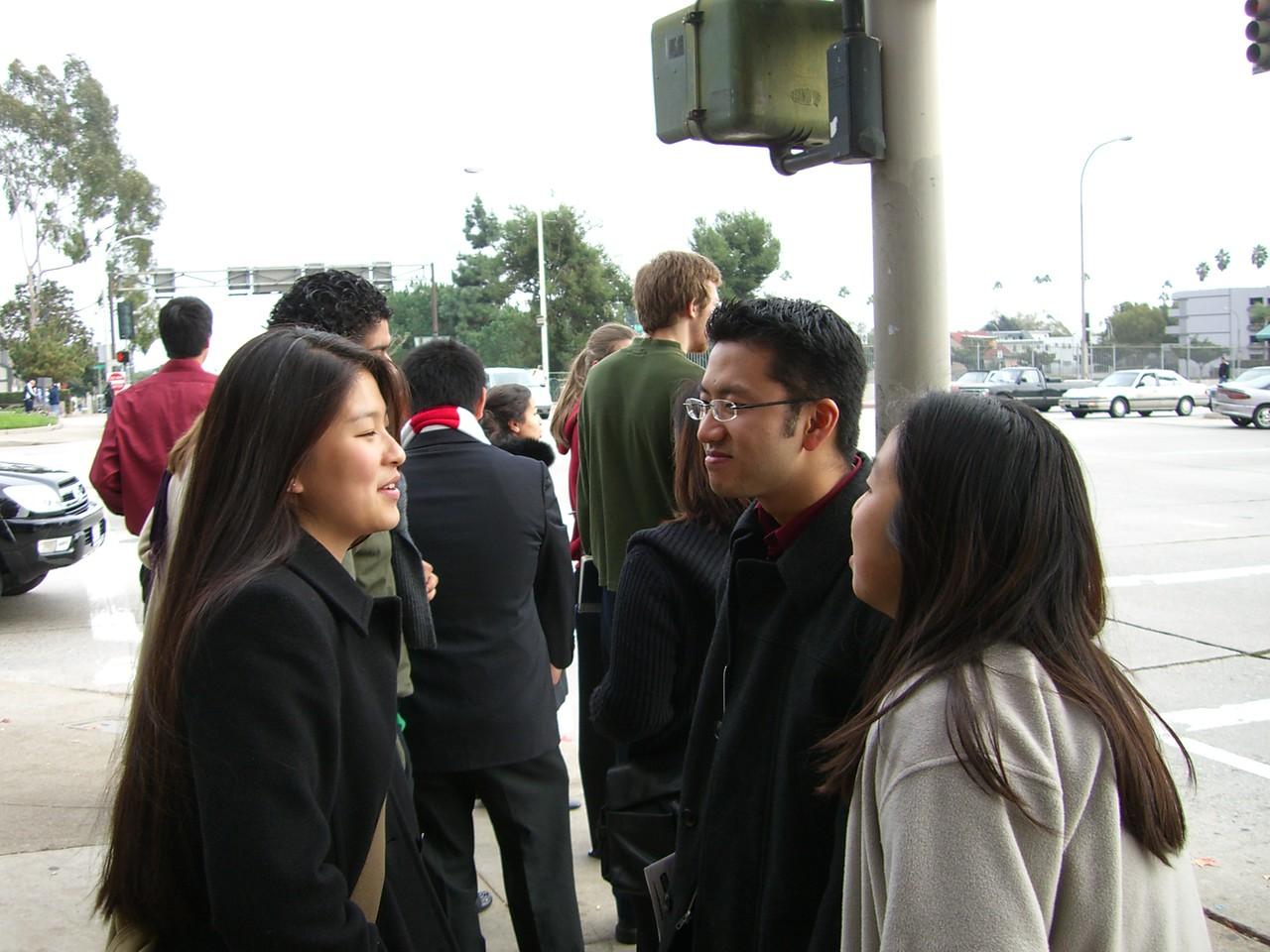 2005 12 18 Sun - Lake Ave Church - Jenn Kim, Bryan Lung, & Jenny Alyono