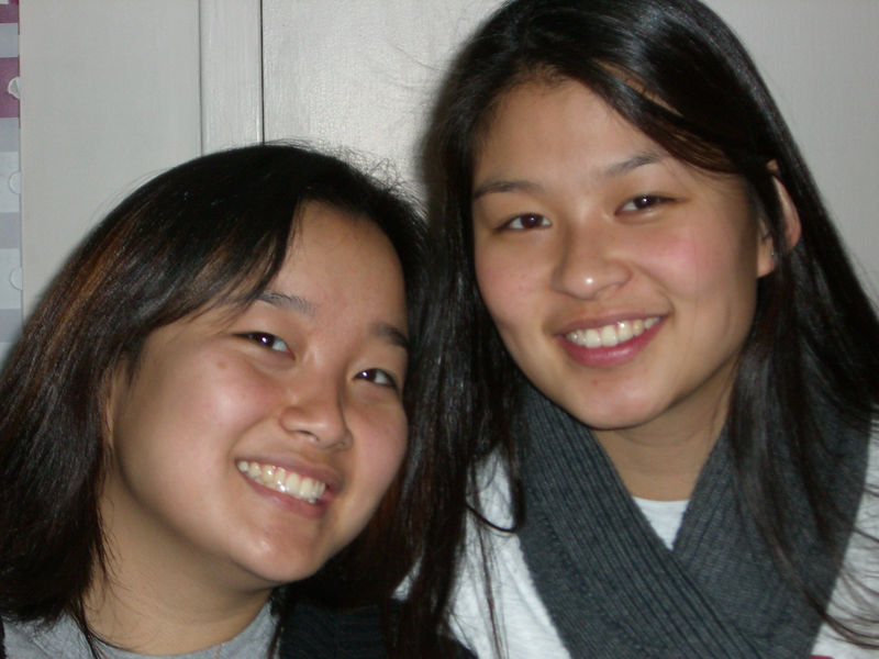 2005 12 18 Sun - Esther Kang & Jenn Kim