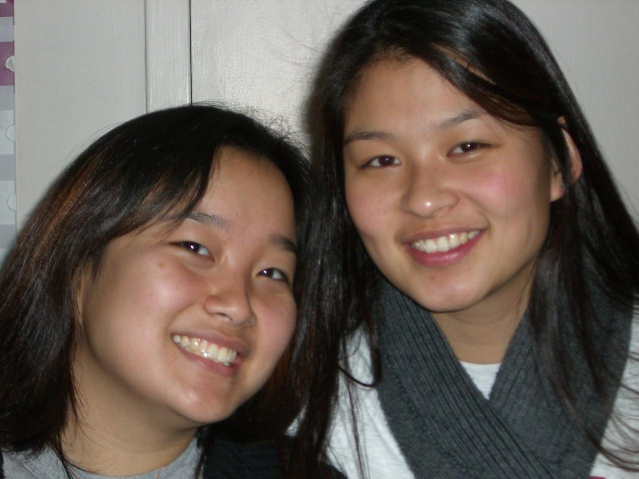 2005 12 18 Sun - Esther Kang & Jenn Kim