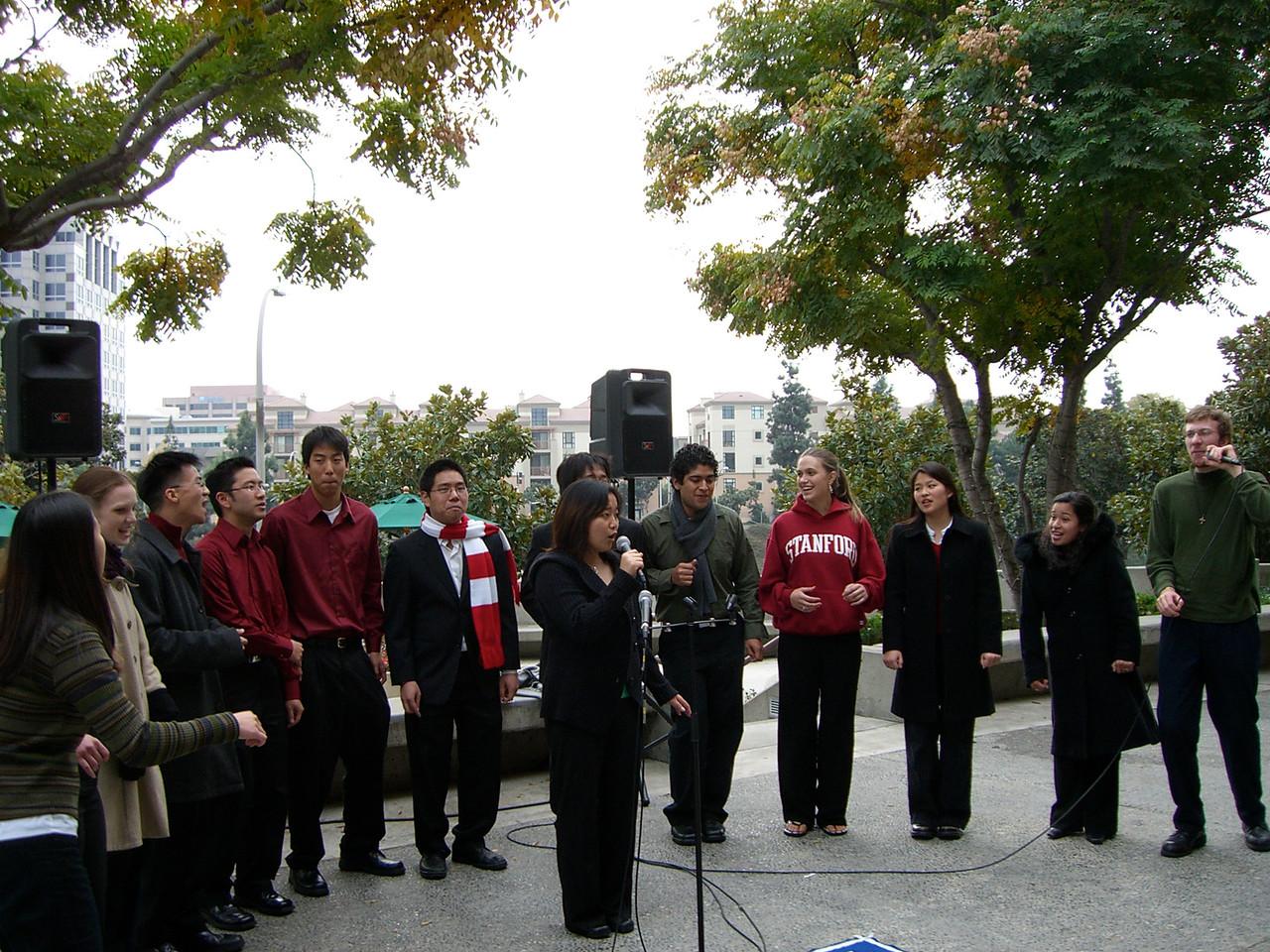 2005 12 18 Sun - Lake Ave Church - Gasp Esther Kang