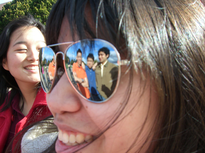 2006 03 12 Sun - Joseph Tan, Pablo Pozo, & David Chiang shimmer in LeAnn Duong's eye & Esther Kang