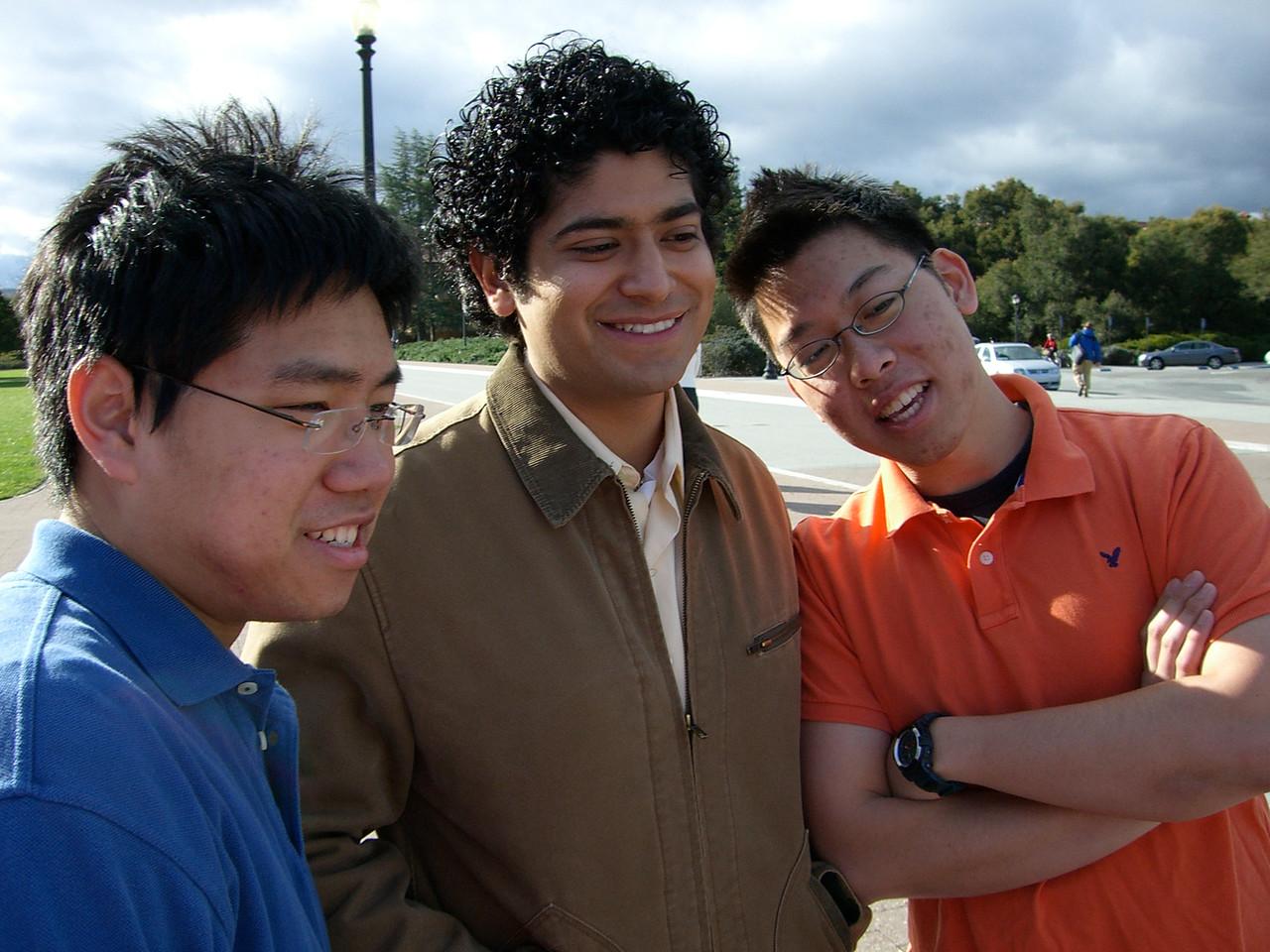 2006 03 12 Sun - David Chiang, Pablo Pozo, & Joseph Tan