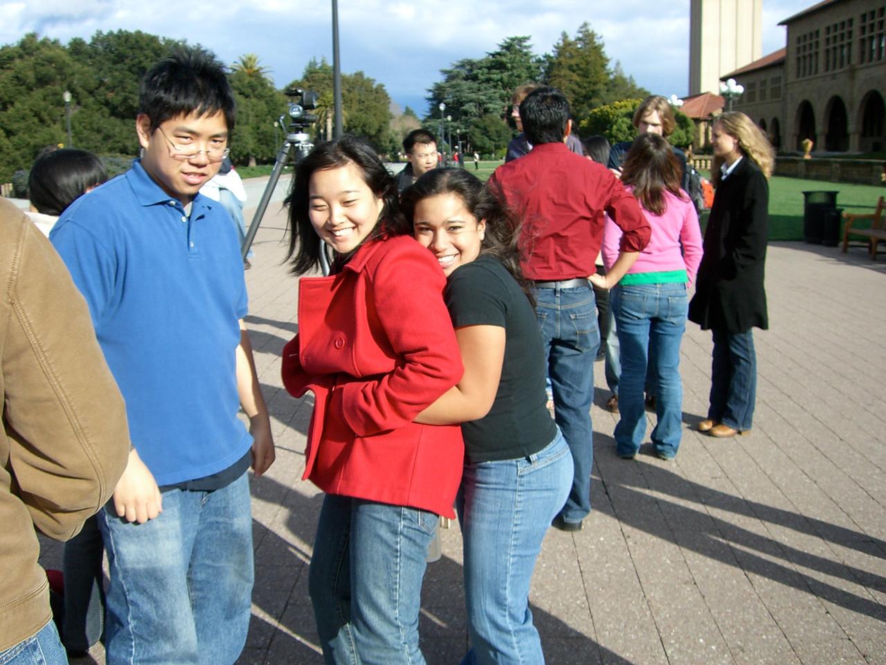 2006 03 12 Sun - David Chiang, Esther Kang, & Jennifer Evans