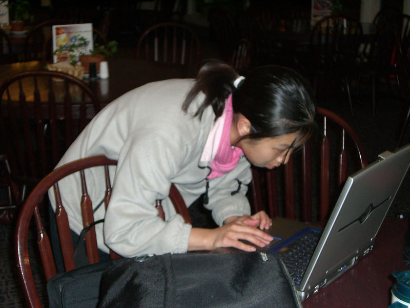 2006 02 14 Tue - Jenny Alyono spending Val's Day with her internet lover
