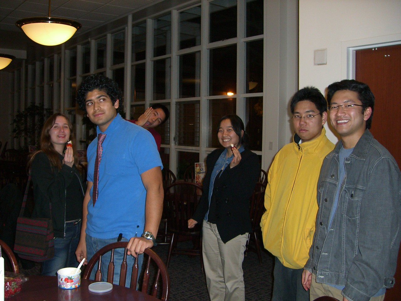 2006 02 13 Mon - Jenna Sloat, Pablo Pozo, Michael Lin, Esther Kang, David Chiang, & Bryan Lung