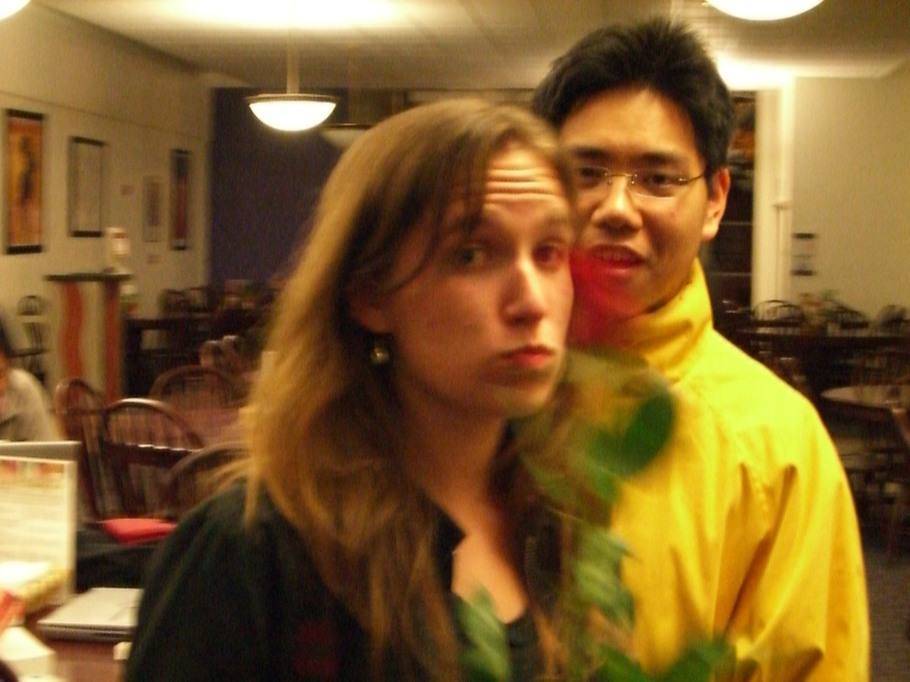 2006 02 14 Tue - Jenna Sloat & David Chiang 2