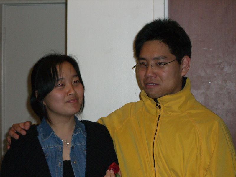 2006 02 13 Mon - Old grandparents Esther Kang & David Chiang