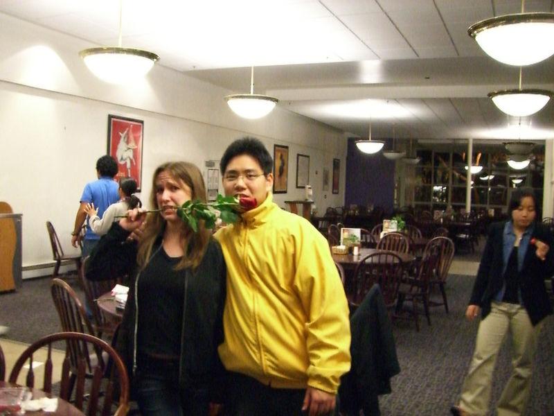 2006 02 14 Tue - Jenna Sloat & David Chiang 1