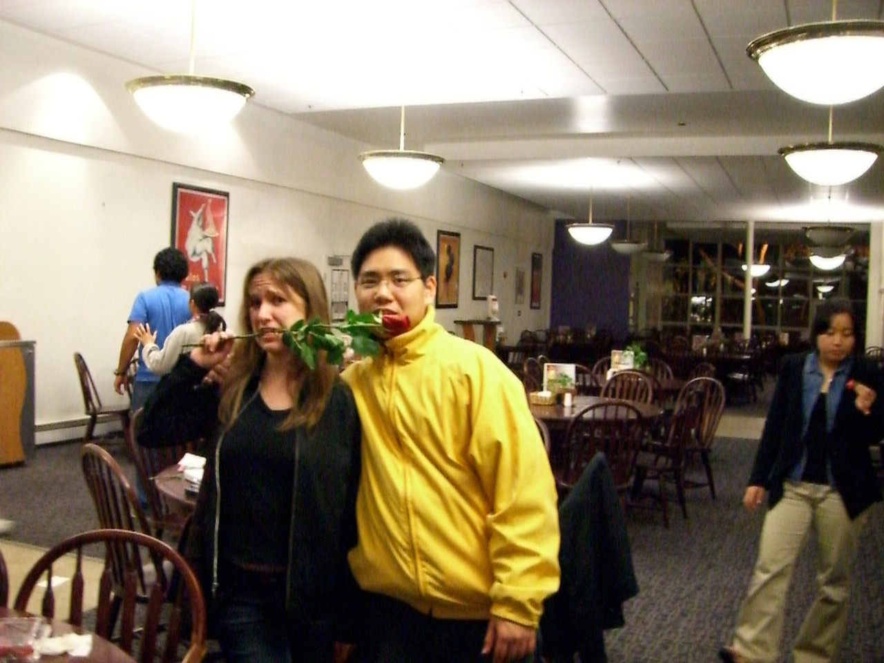 2006 02 14 Tue - Jenna Sloat & David Chiang 1