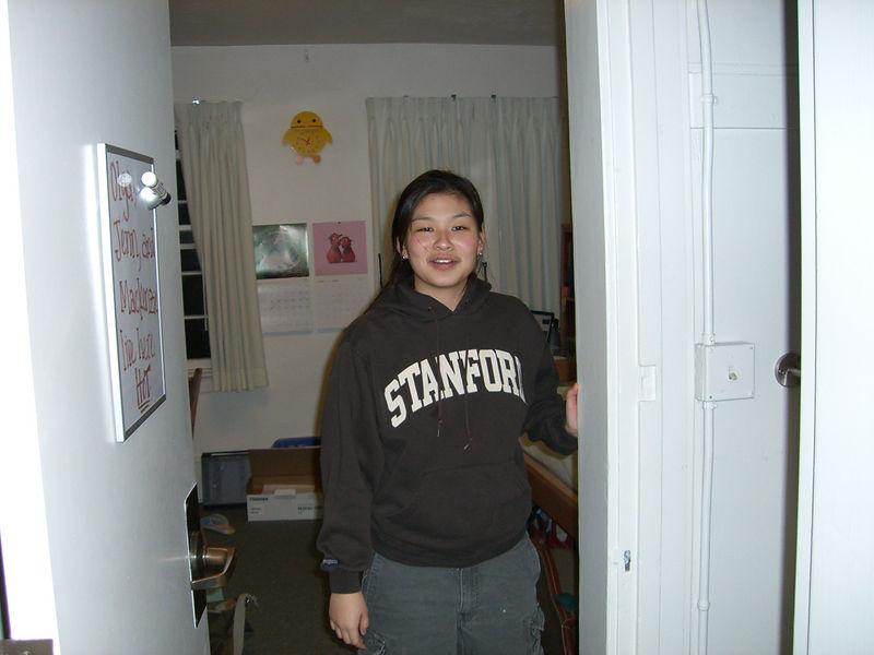 2006 02 14 Tue - Jenn Kim is awake