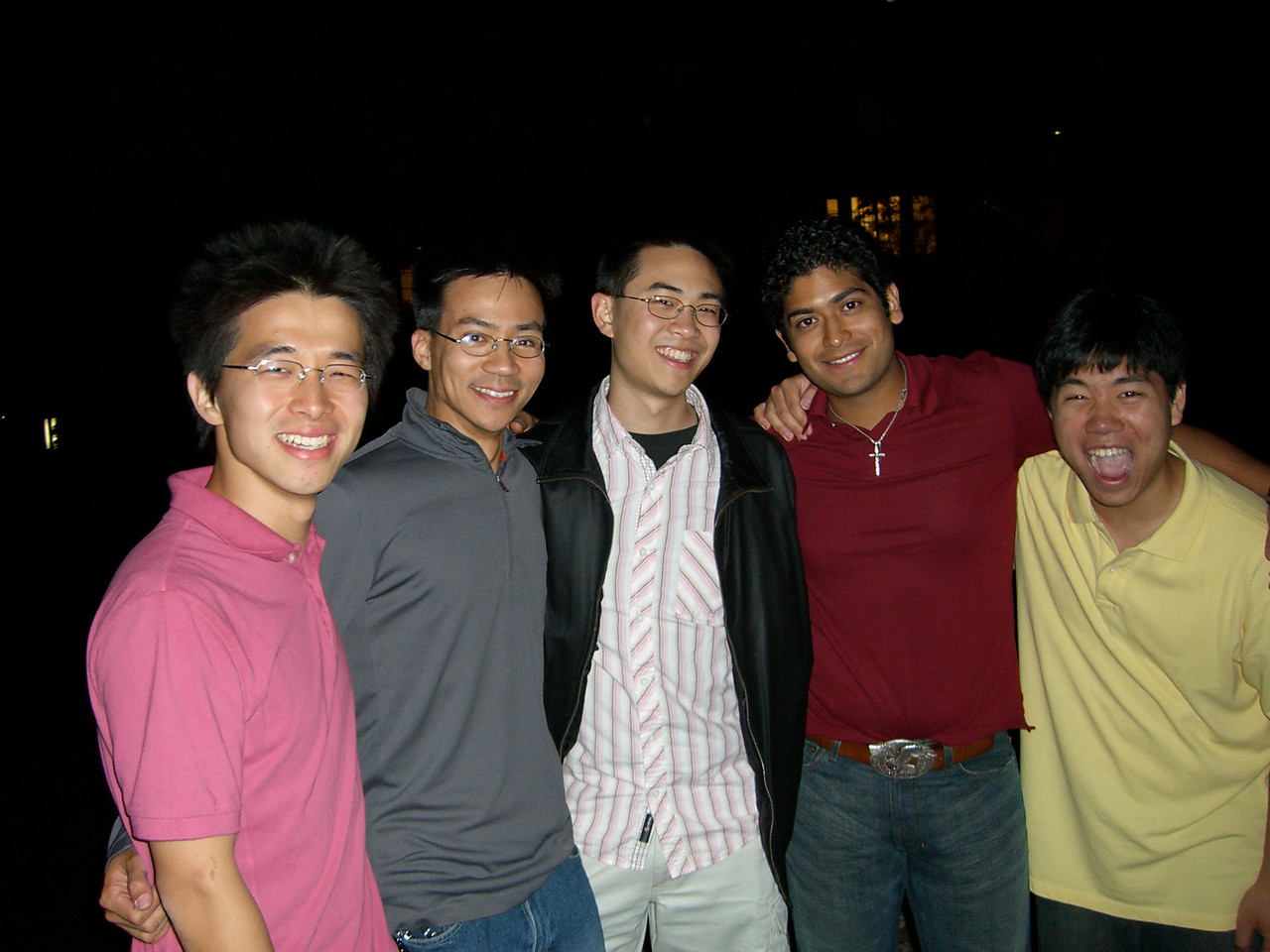 2006 05 19 Fri - Tenors after Spring Show 3 - with Poon
