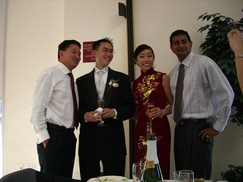 2006 06 24 Sat - Richard Sim, Ben & JoEllen Poon, & Shashank Parasnis from Microsoft