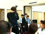 2006 06 24 Sat - Ben & JoEllen's wedding - Ben Yu, Eric Cheng, Kelly Cheng, Jeremy Liu, & Ben Poon serenading JoEllen with 'I Will Be Here' mpg-1