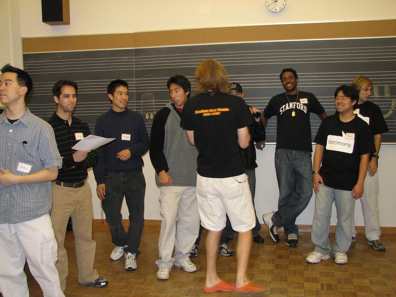 2006 12 02 Sat - Old Tmony basses & tenors practice