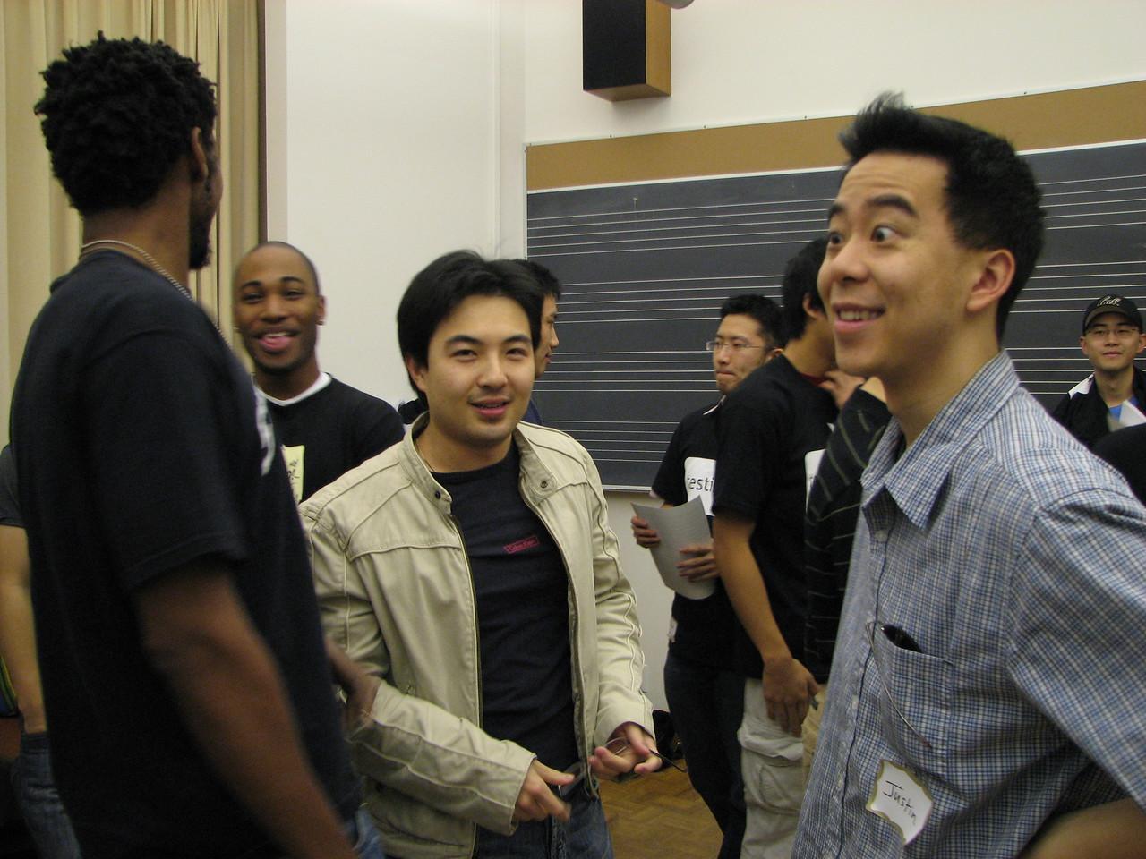 2006 12 02 Sat - Uchenna Okoye, Sanghyup Kwak, Justin Kao