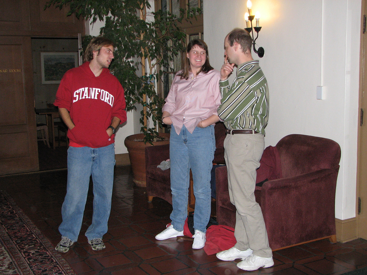 2006 12 01 Fri - David Scudder, Mindy & Greg Lincicome
