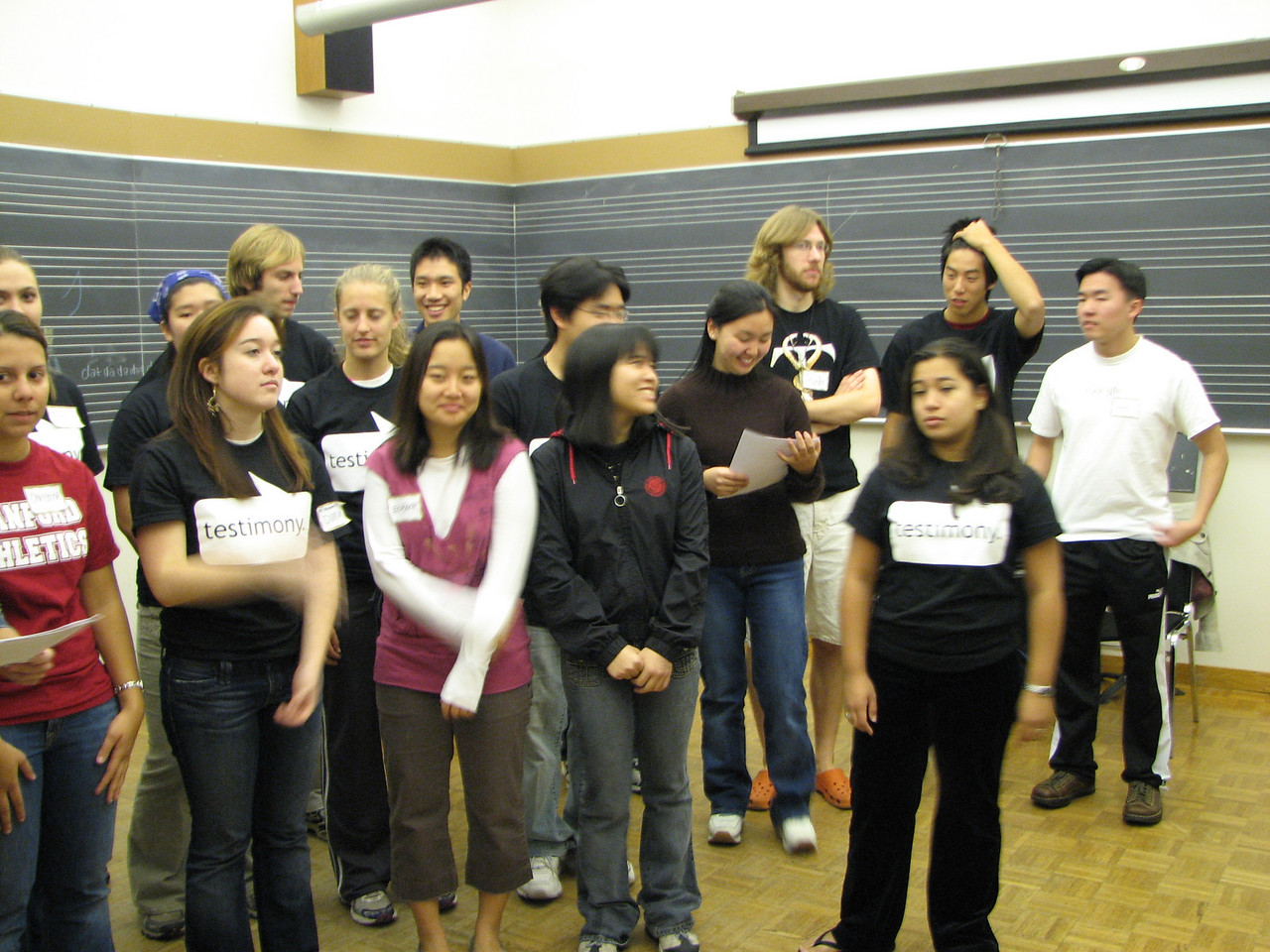 2006 12 02 Sat - Old Tmony practice 1