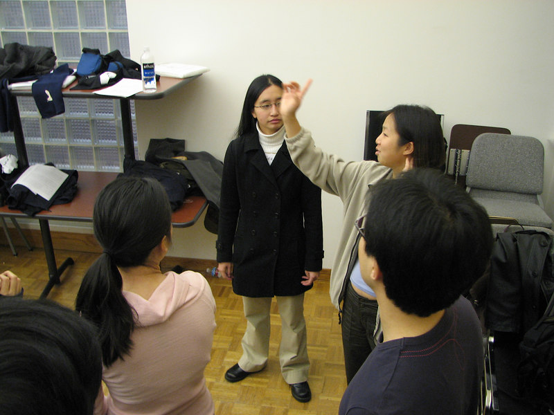 2006 12 02 Sat - Sandra Huang, Tina Wong, Jenny Alyono, & Sanghyup Kwak 2