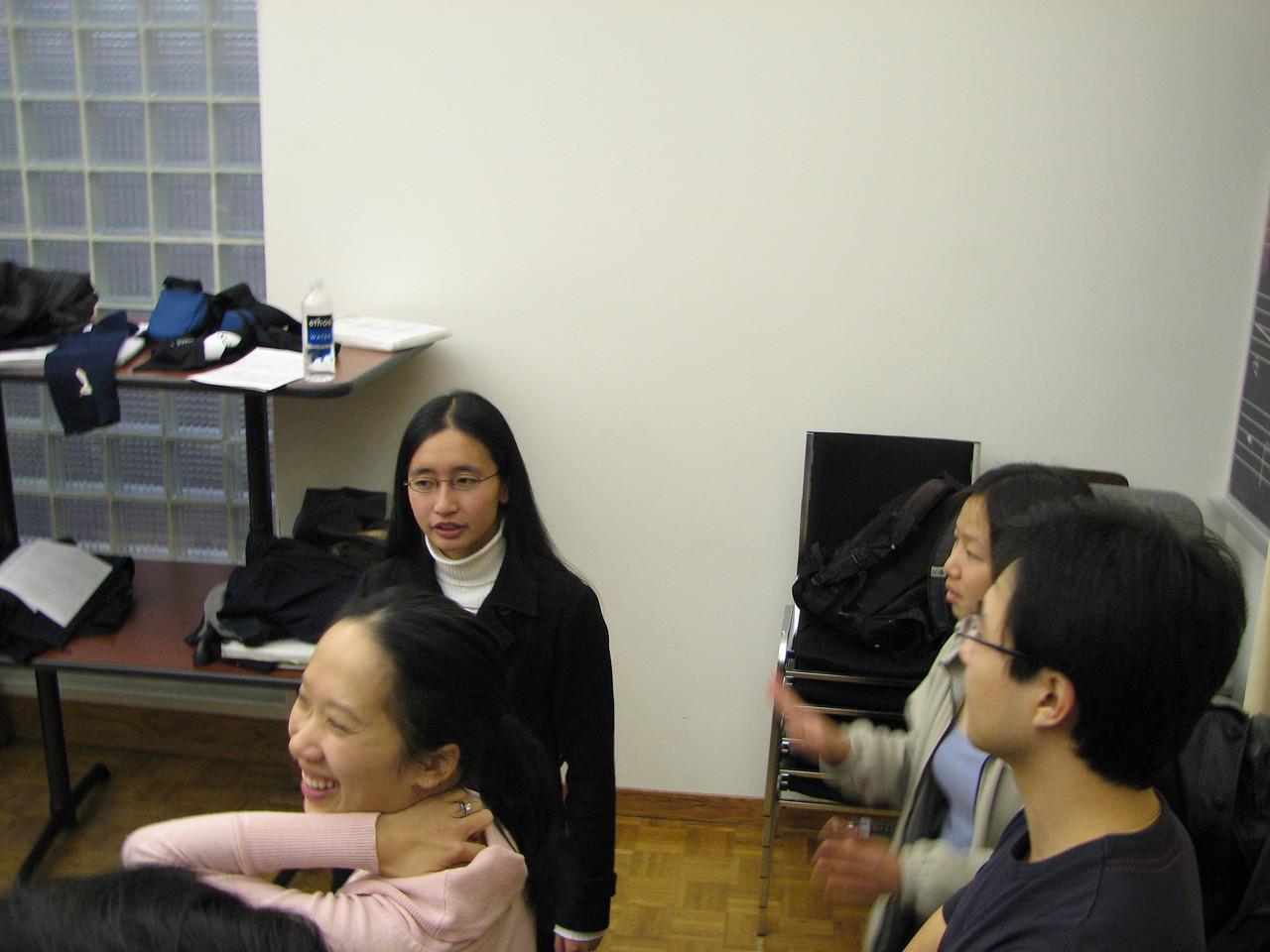 2006 12 02 Sat - Sandra Huang, Tina Wong, Jenny Alyono, & Sanghyup Kwak 1