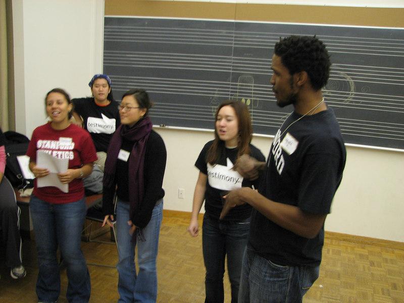 2006 12 02 Sat - Old Tmony altos & Uchenna Okoye practice