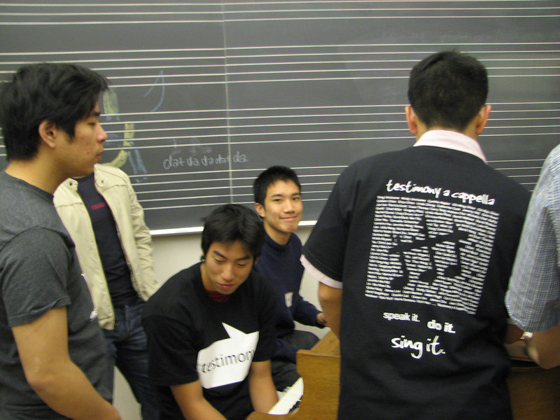 2006 12 02 Sat - Old Tmony basses practice