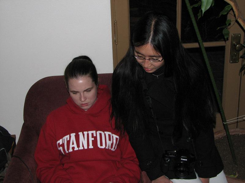 2006 12 01 Fri - Kari Doyle & Tina Wong