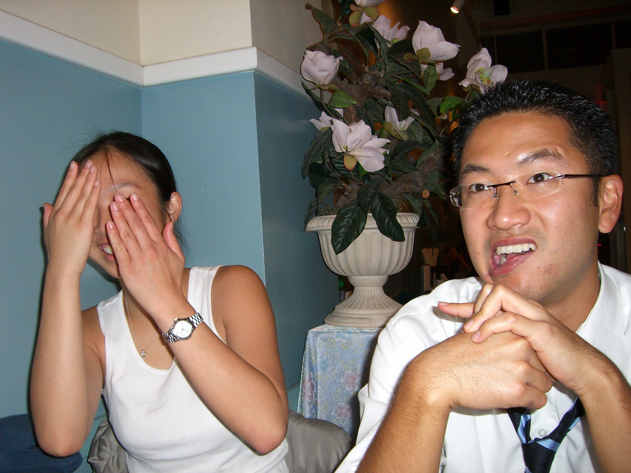 2005 10 22 Sat - Jenny Alyono ashamed of Bryan Lung