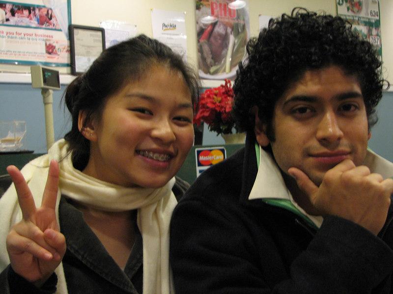 2007 01 28 Sun - Jenn Kim FoB & Pablo Pozo