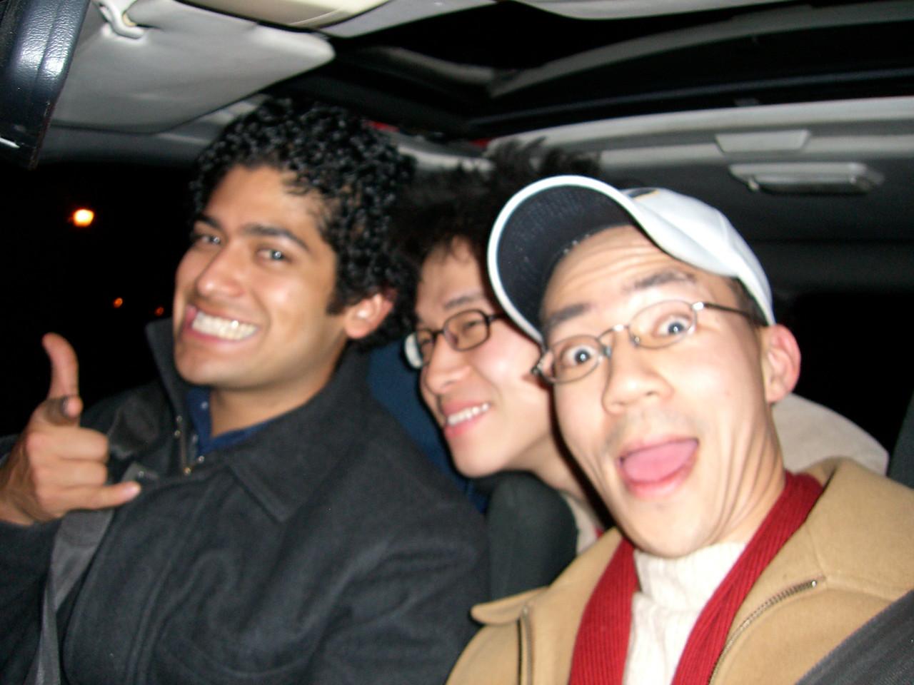 2006 02 17 Fri - Three Foo's - Pablo Pozo, Hyungsoo Kim, & Ben Yu 1