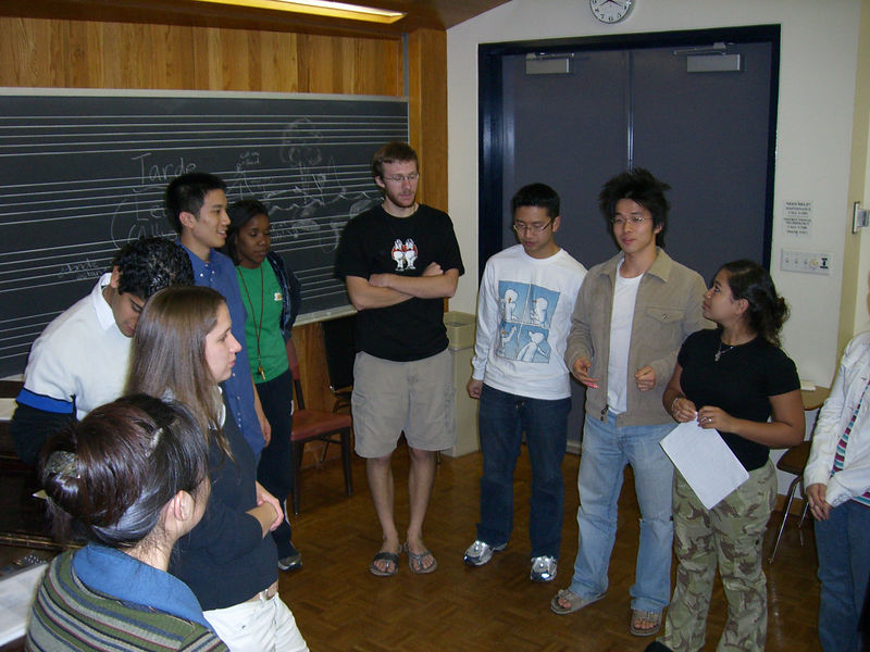 2005 12 05 Mon - Dead Week rehearsal 1