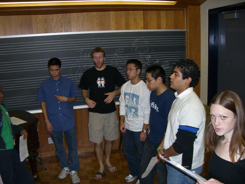 2005 12 05 Mon - Dead Week rehearsal 2