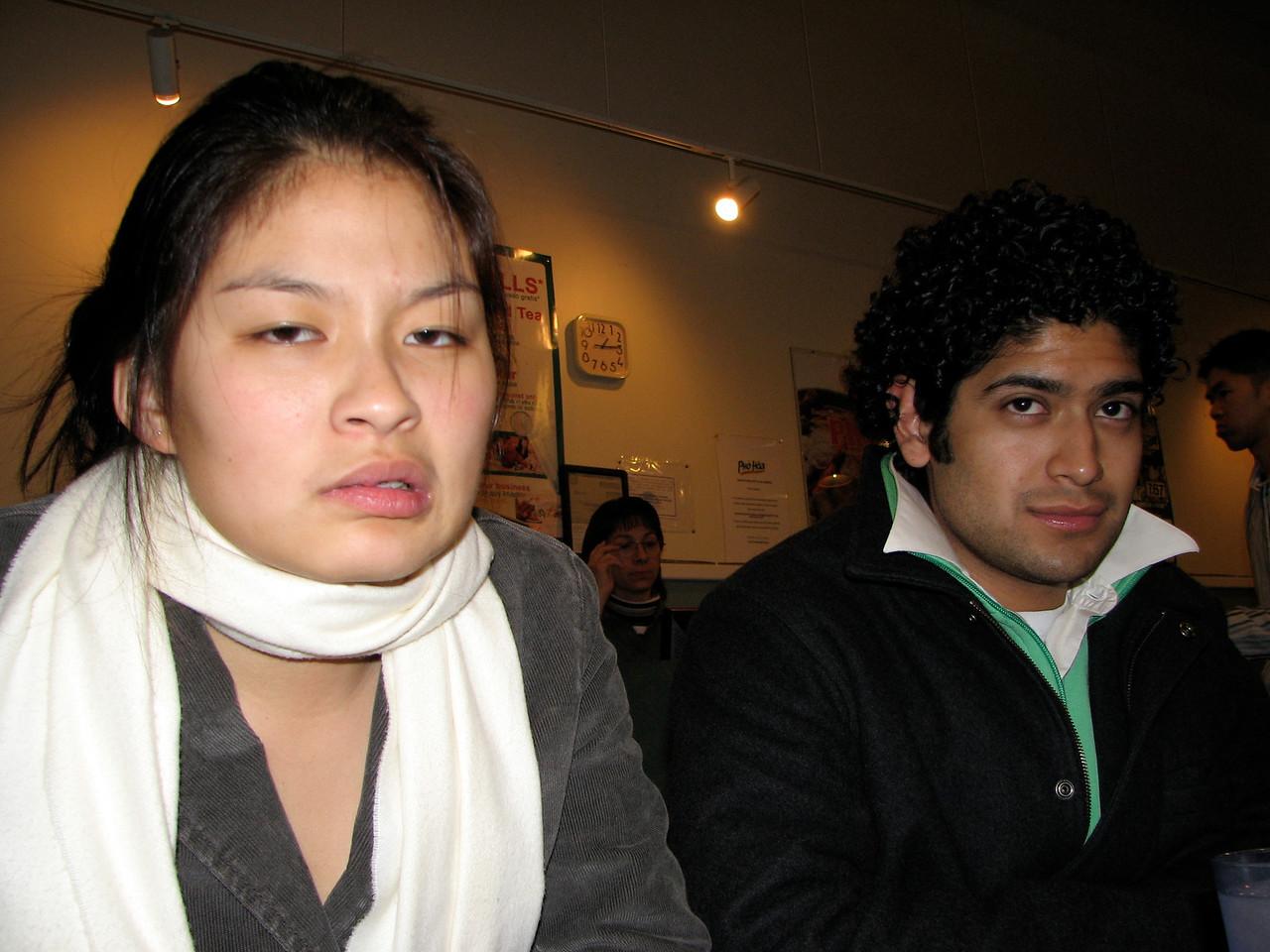 2007 01 28 Sun - Constipated Jenn Kim & relieved Pablo Pozo
