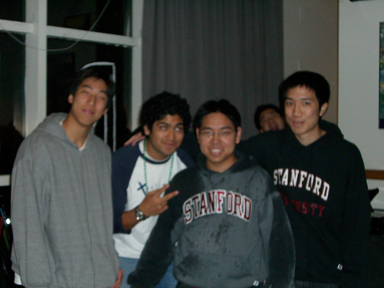 2006 03 01 Wed - David Chiang's B-day - James Lee, Pablo Pozo, David Chiang, & Michael Lin