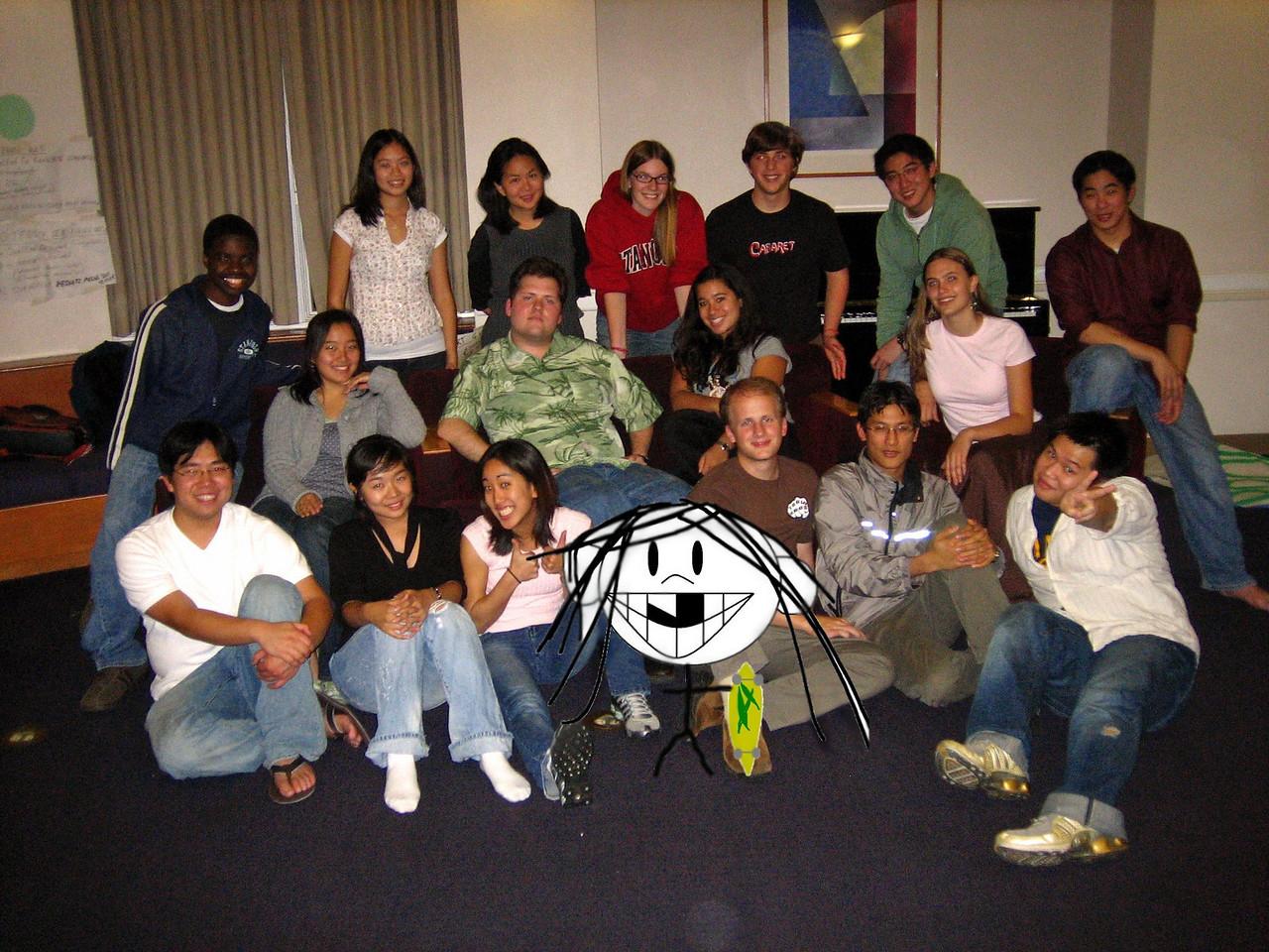 2006 11 29 Wed - Tmony with Jenn Kim - photochop 2