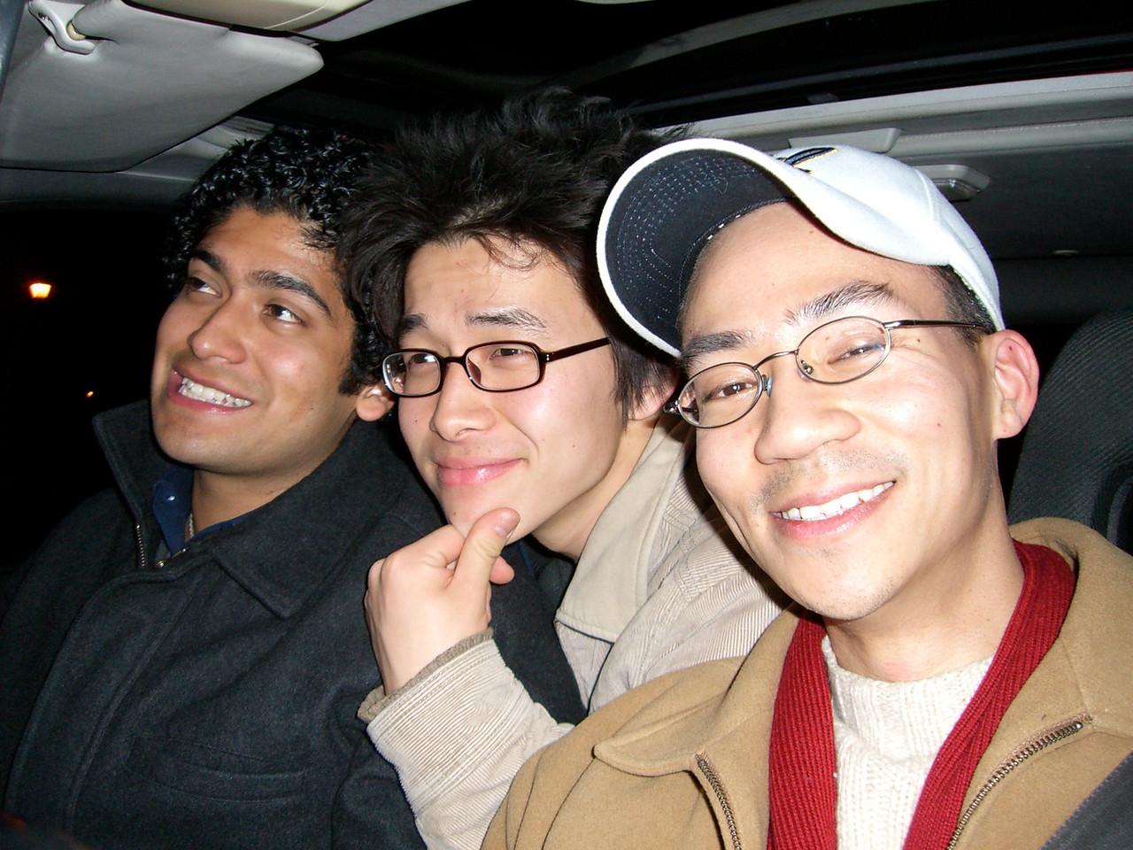 2006 02 17 Fri - Three Foo's - Pablo Pozo, Hyungsoo Kim, & Ben Yu 2