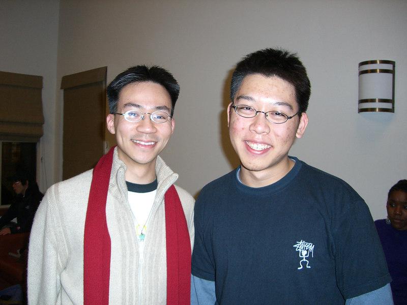 2006 03 16 Thu - Ben Yu & Joseph Tan