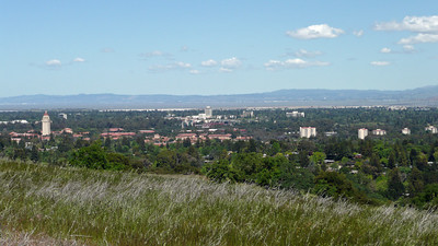 Overlooking Stanford from the Dish Trail