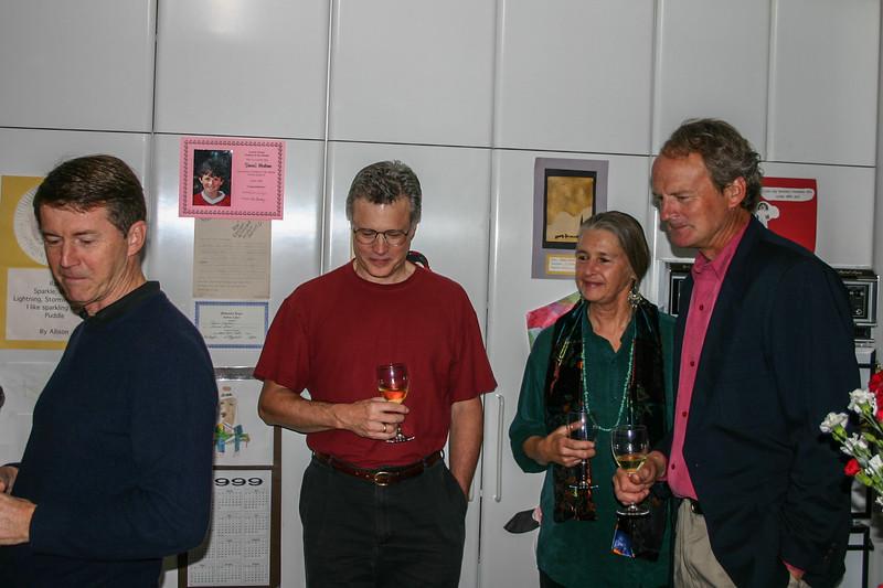 Paul Sagues, ?, Dan Torjusen & Spouse