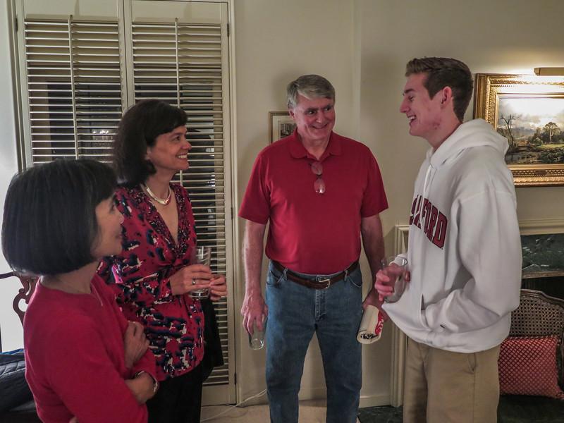Debbie, Barb, David & Son