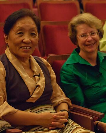 Rinchen Khando Choegyal & Elizabeth Napper