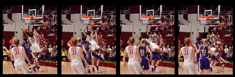 Sequence of Nneka going in for a shot, she was whistled for a charge on this, altho in these pictures, the defender's feet are not down