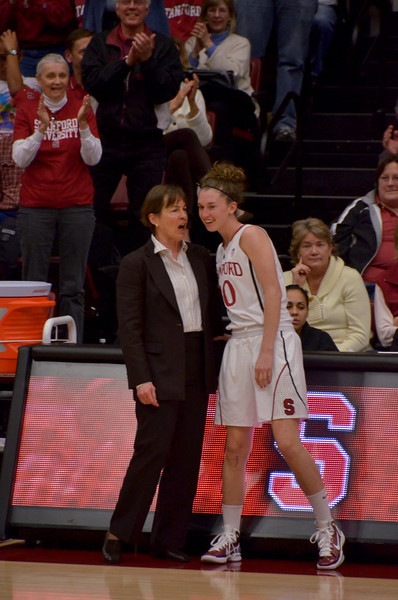 On Senior Night, Hannah was put in for six seconds in the last minute, the only time this season.