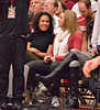 Ros Gold-Onwude and JJ Hones had front-row seats. (Marian Cortesi photo)