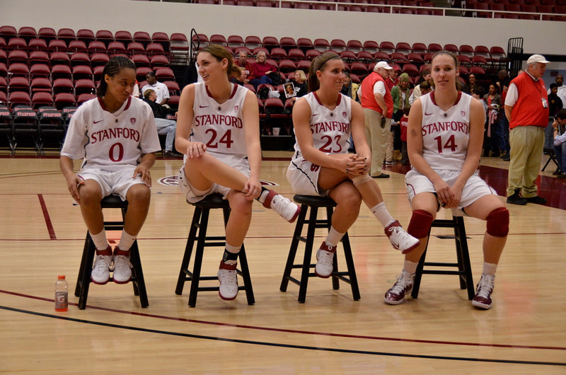 The seniors waiting to talk to fans