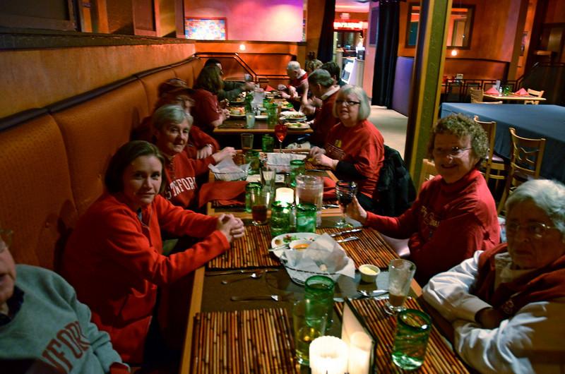 FBC members gathered afterward at a local bar