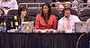 Mary Murphey, Lisa Leslie, Jim Watson do the commentary.