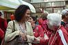 Ros G-O greets Tara's Mom