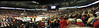 Panorama of Veterans Arena from the corner where Stanford had tickets on Staturday (Monday seats were much better).