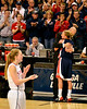 Courtney Vandersloot says farewell to her coach at the end of her college career.