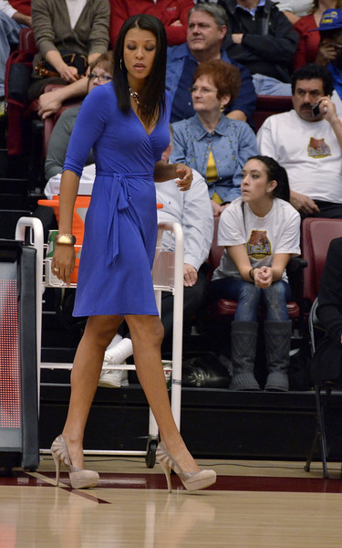 UCLA  coach Nikki Caldwell was stylin', but her team soon recognized the truth of the lyrics by The Eagles: